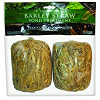 Summit 125 Clear-Water Barley Straw Bales, 2-Pack Treats up to 1000-Gallon