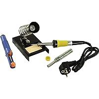 """'McPower lötset McPower """"LS-303, 230V/30W de fer à souder, pompe à dessouder, support et étain–Sous blister"""