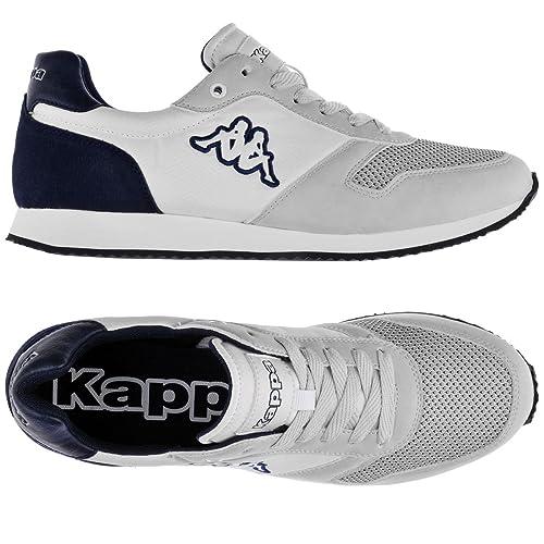 Gistof E Sneakers Kappa Logo Blue Uomo Per 937 Donna White EfaEqXwrxd