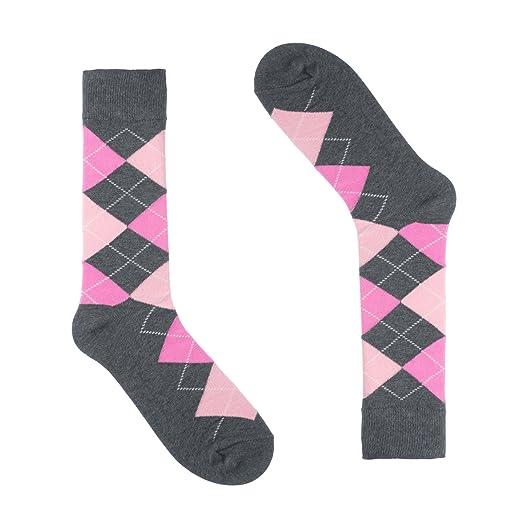 f50f88bef Ivory + Mason Argyle Socks for Men - Dress Sock - Colorful - Grey ...