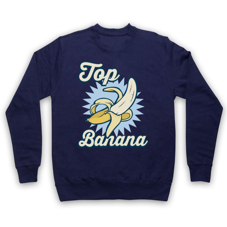 My Icon Art & Clothing Top Banana Funny Adultos Sudadera: Amazon.es: Ropa y accesorios