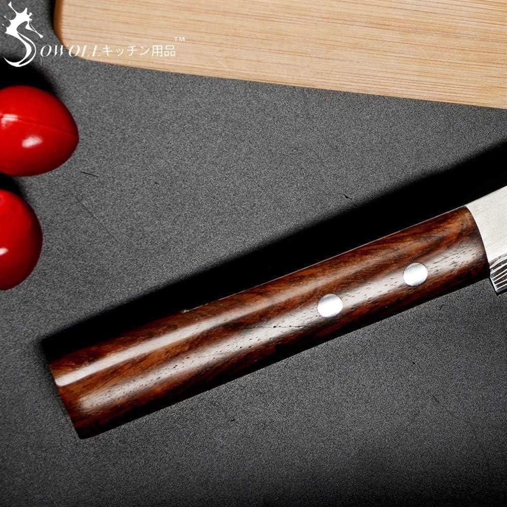 Compra Salmón de Cocina de Acero Inoxidable del Cuchillo Sashimi Cuchillo de Cocina láser Damasco Cuchillo Cocinero japonés Sushi Petty Crudo fileteado Cuchillo de Pescado (Color : No Box) en Amazon.es