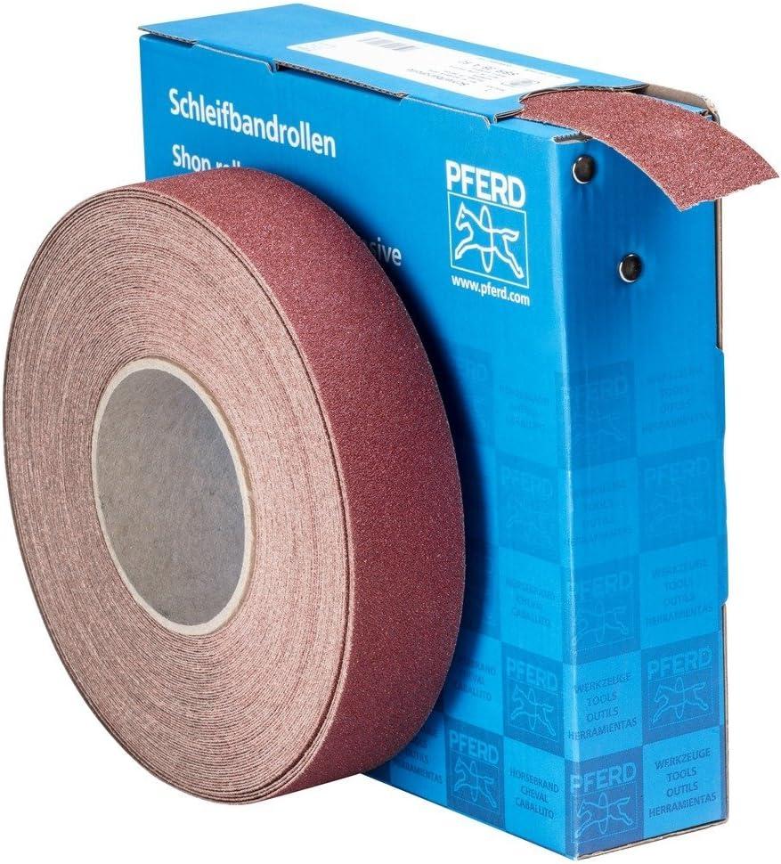 rongweiwang 4 Rouleau Abrasif Bande Boxed Multi-Rouleaux Sanding Rouleaux abrasifs Feuilles de Papier en Nylon Dos en Tissu 150//240//320//400 Grit