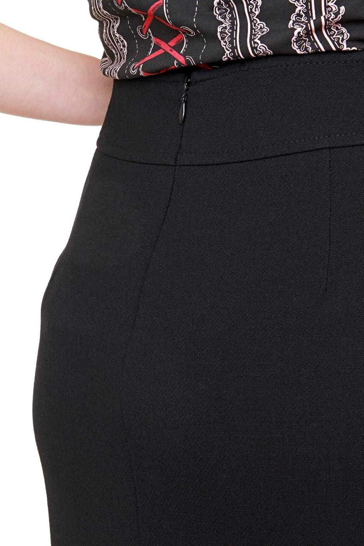 Luisa Spagnoli Pencil Skirt MARIOLA, Color: Black