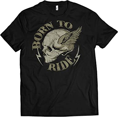 Camiseta Hombre Moto – Born To Moto de Culto Camisa Manga Corta para la Motociclistas Debajo Euch. Talla S-XXXXXL: Amazon.es: Ropa y accesorios