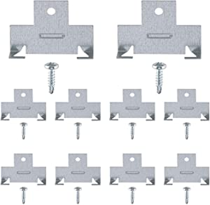 Recessed Light Clips for Downlight | 5 Pairs of Recessed Lighting Clips | Perfect for recessed retrofit Down Light