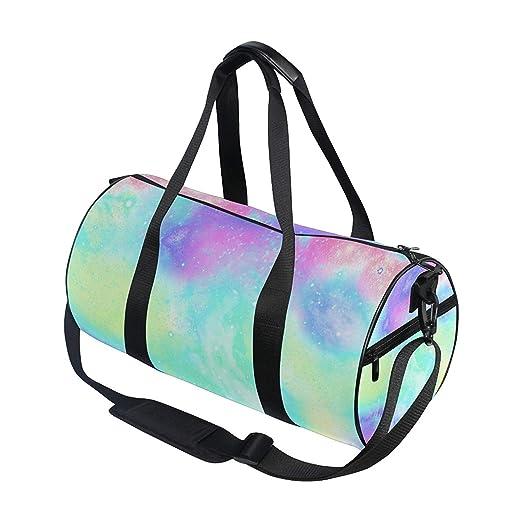OuLian Sports Bag Unicorn Marble Galaxy Mens Duffle Luggage Travel Bags Kid  Lightweight Gym Bag  Amazon.ca  Sports   Outdoors 6705181af78e4