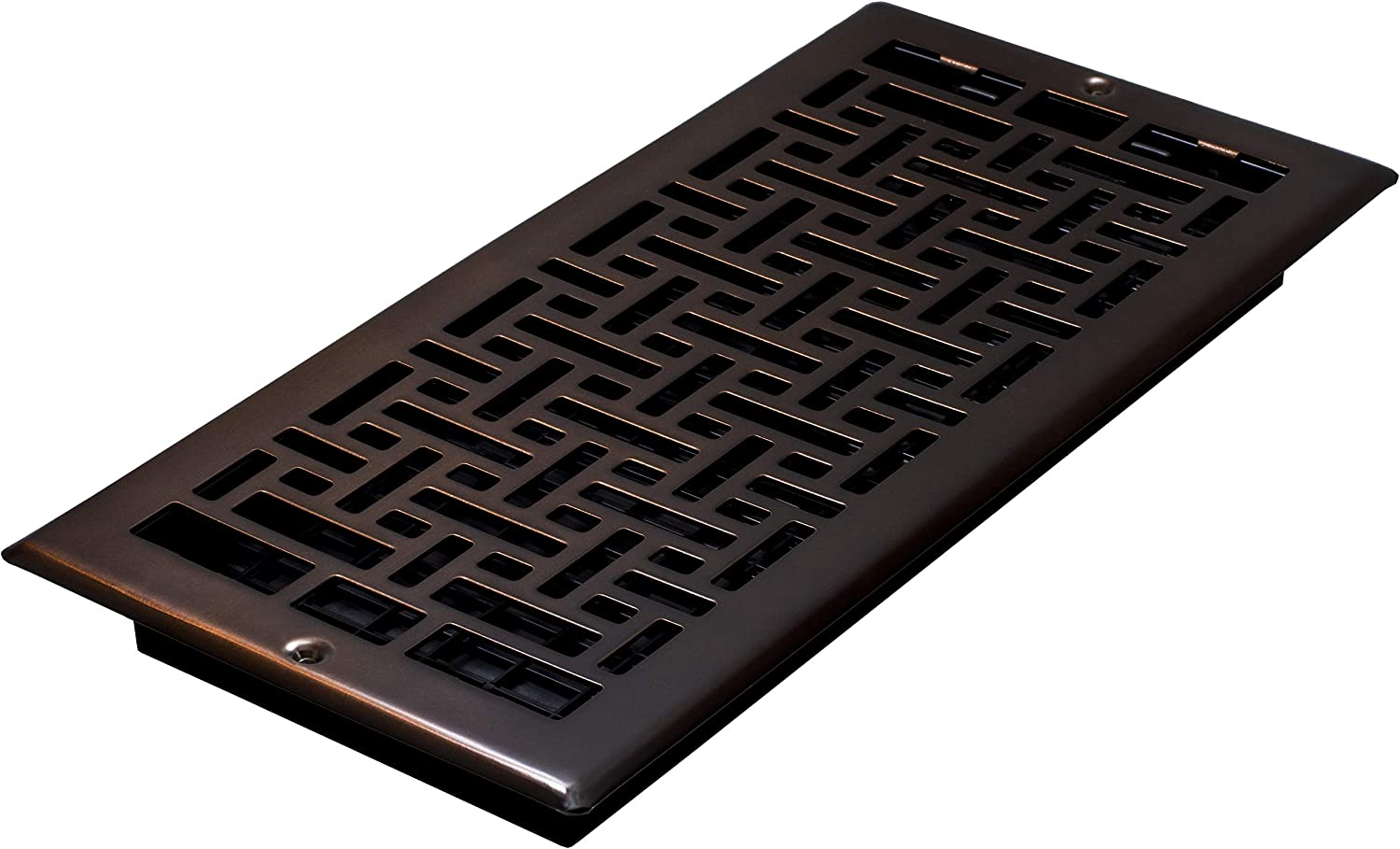 Decor Grates AJL614W-RB Oriental Wall Register, 6-Inch by 14-Inch, Rubbed Bronze