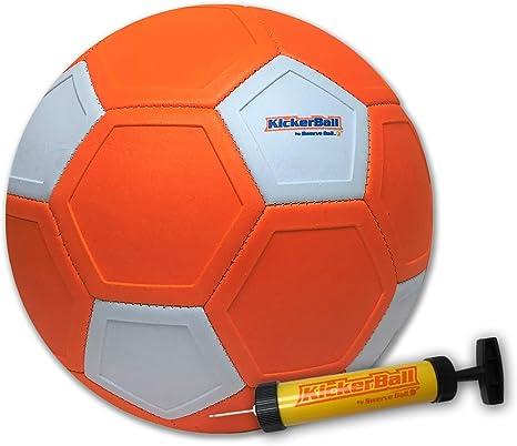 Kickerball - Pelota de fútbol con bomba de inflado: Amazon.es ...