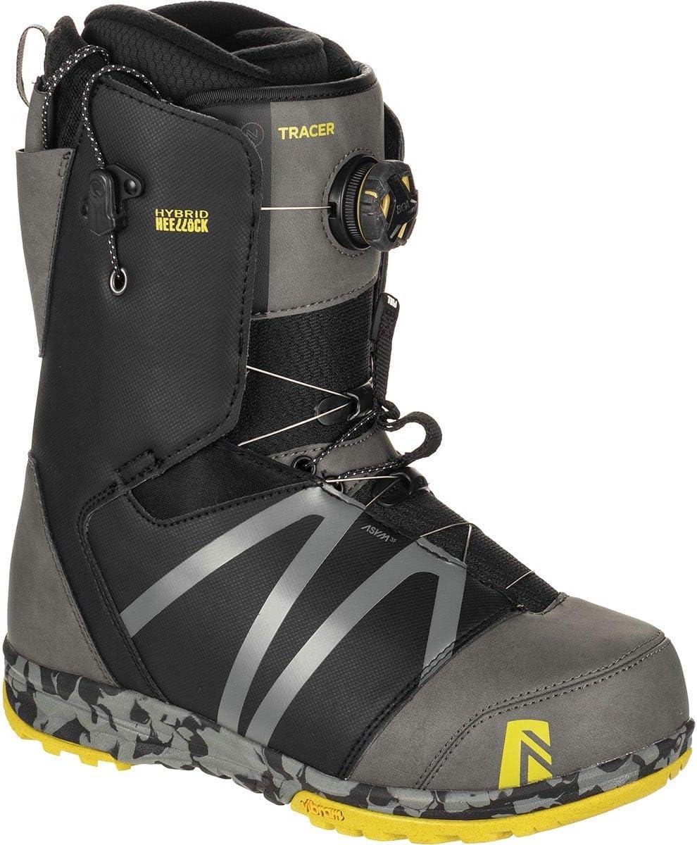 Mens Nidecker Tracer Boa Heellock Coiler Snowboard Boot