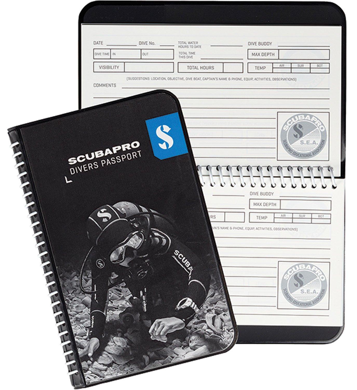 Amazon.com : ScubaPro Water Proof Pages Divers Log Book : Diving ...