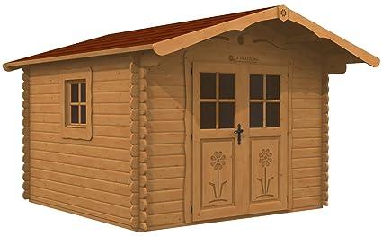 Casetta da giardino 3x3 LA PRATOLINA in legno di alta ...