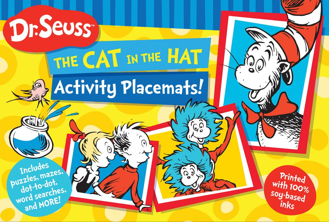 Dr. Seuss The Cat in the Hat Activity Placemats!: Includes puzzles ...