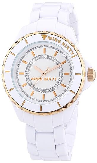 Miss Sixty R0753105501 - Reloj analógico para mujer de plástico Resistente al agua multicolor: Amazon.es: Relojes