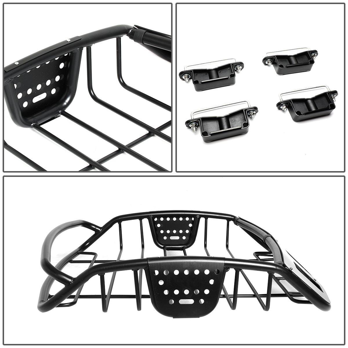 DNA MOTORING PT-ZTL-8059 Universal Adjustable Roof Cargo Basket Luggage Carrier