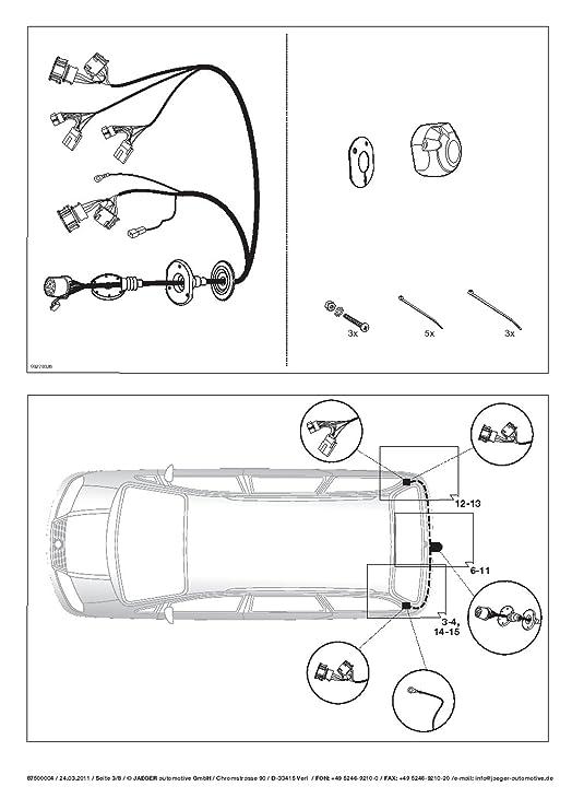 Seat Alhambra 4 x 4 MPV 2000 - 2010 Fijo Cuello de Cisne Remolque con 13P Índice Fischer S Juego de ut140 C or63z2fm/ws21500003de1: Amazon.es: Coche y moto