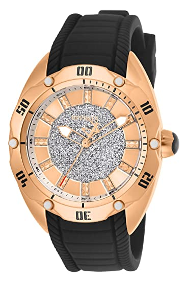 Invicta Venom Reloj de Mujer Cuarzo Correa de Silicona Caja de Acero 26146: Amazon.es: Relojes