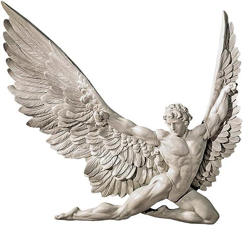 Design Toscano NG33636 Icarus Winged Man Wall Sculpture