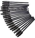 RuiChy 50pcs Disposable Eyelash Brushes Wands Mascara Applicator