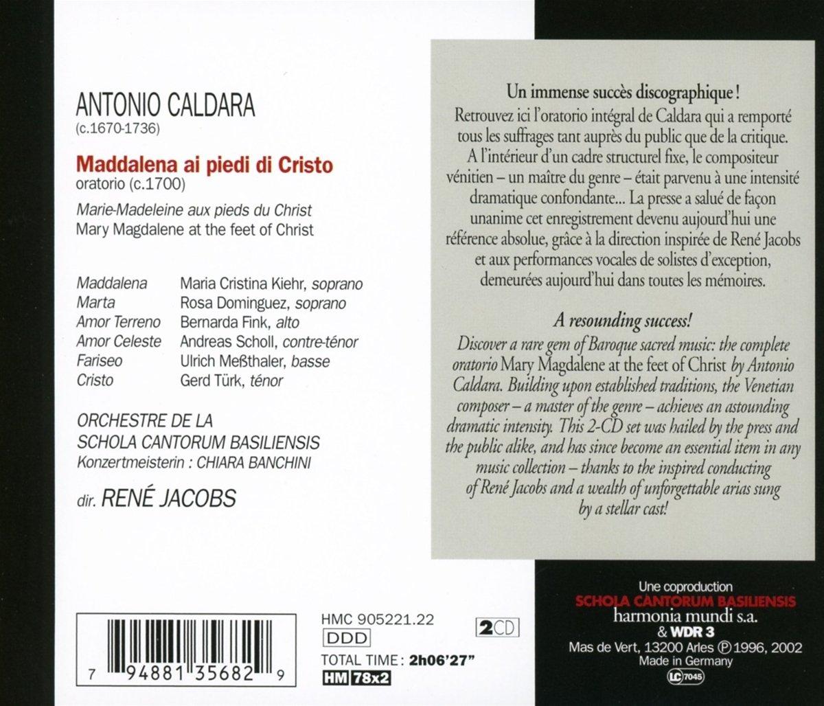 Maddalena Ai Piedi Andreas Scholl, Maria Christina Kiehr