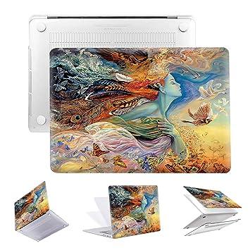 Amazon.com: PapyHall - Carcasa rígida de plástico para Apple ...
