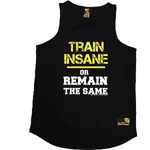 Train Insane Remain The Same SWPS UNISEX VEST birthday fashion gift gym training