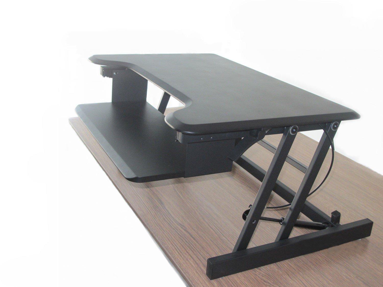 Ergoneer Latest Model Adjustable Ergonomic Sit To Stand Desk Riser W
