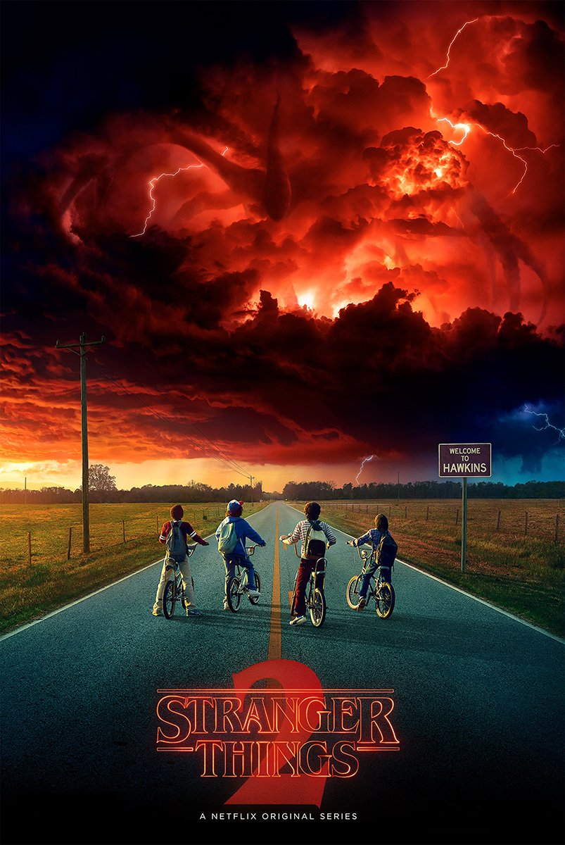 Stranger Things 2 Second Season Poster 24in x 36in TV Show