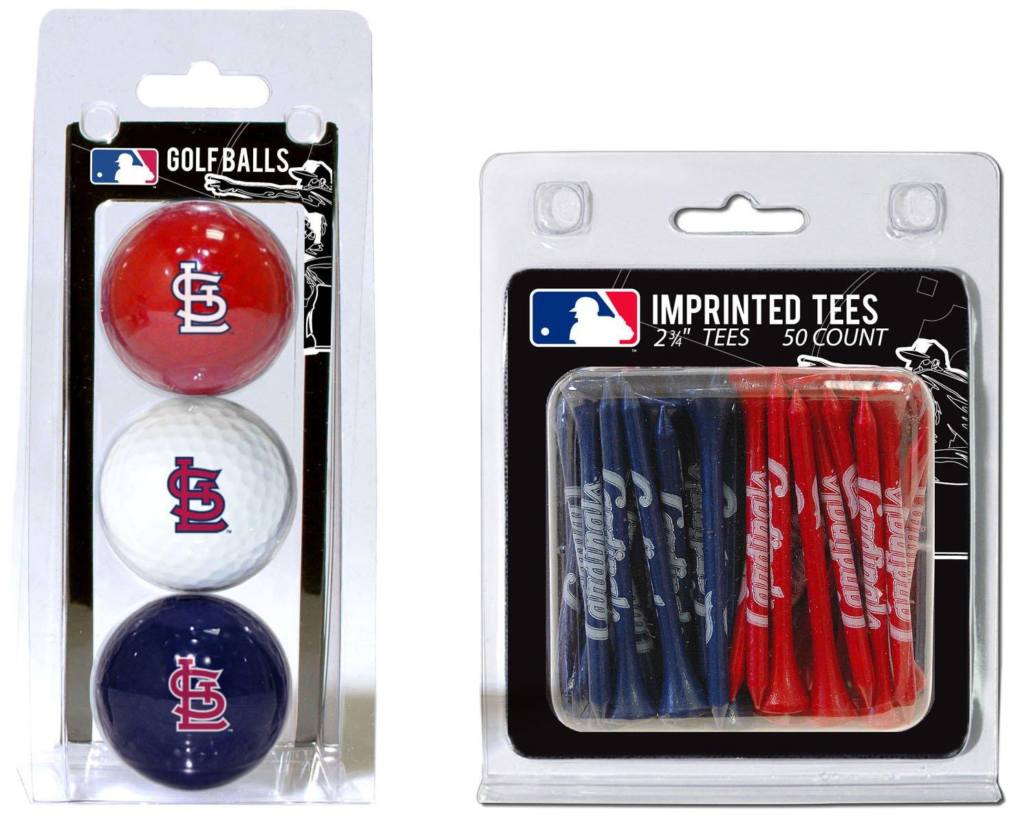 【お買得!】 Team Golf 97599 MLB - St Louis Cardinals 97599 - Tee 3 Ball-50 Tee B008NU3JRA, 次世代ショップまたまた:a37446a7 --- a0267596.xsph.ru
