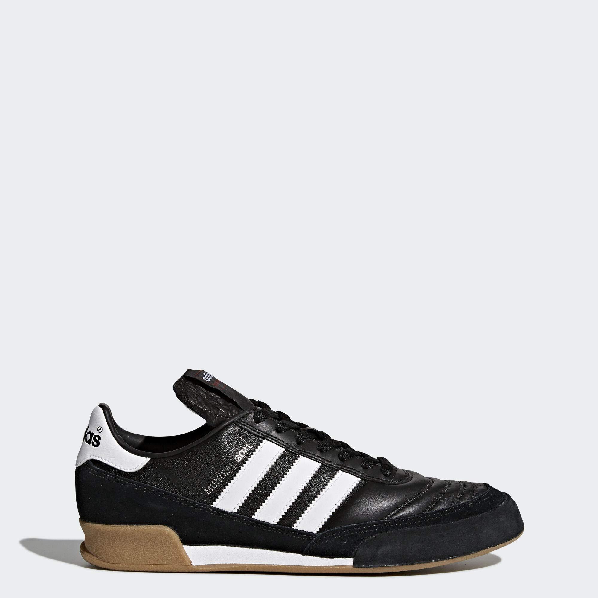 adidas Men's Mundial Goal Soccer Shoe, Black White, 10 M US by adidas