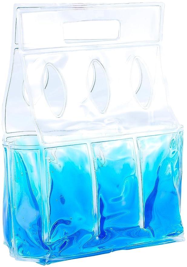 K/ühl-Tragetasche f/ür 6 Flaschen oder Getr/änkedosen PEARL Flaschenk/ühler K/ühltasche f/ür 6 Flaschen