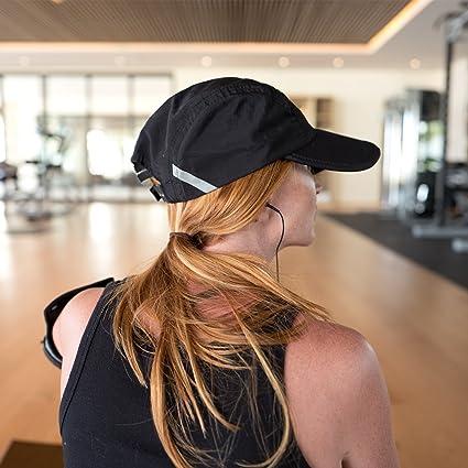 Active Lifestyle Hat Unisex Pink FitKicks Folding Adjustable Cap UPF 50