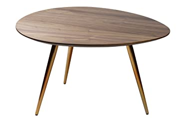 Amazon.com: Edloe Finch Modern Coffee Table By Small Mid Century Modern Coffee  Tables For Living Room   Contemporary U0026 Retro Low Walnut Wood Midcentury    30 ...