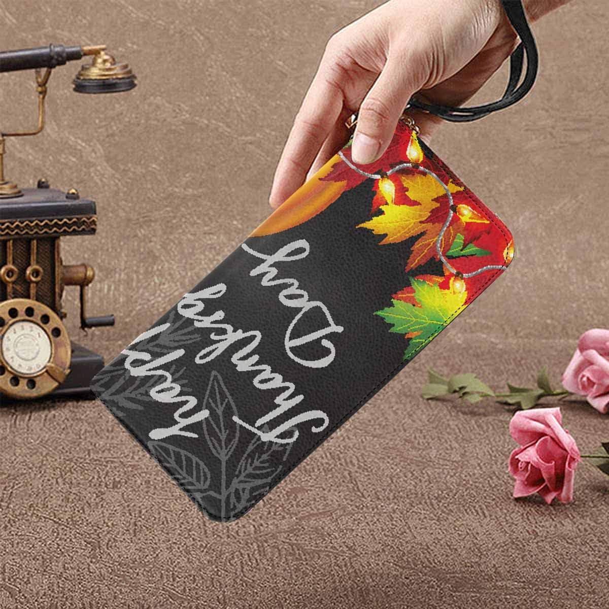 InterestPrint Womens Autumn Melody Clutch Purse Card Holder Organizer Ladies Purse
