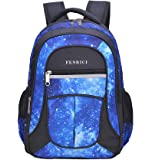 Galaxy Backpack for Little Kids, Boys by Fenrici, 41 cm Durable Book Bags for Preschool, Primary School Students, Supporting Kids with Rare Diseases