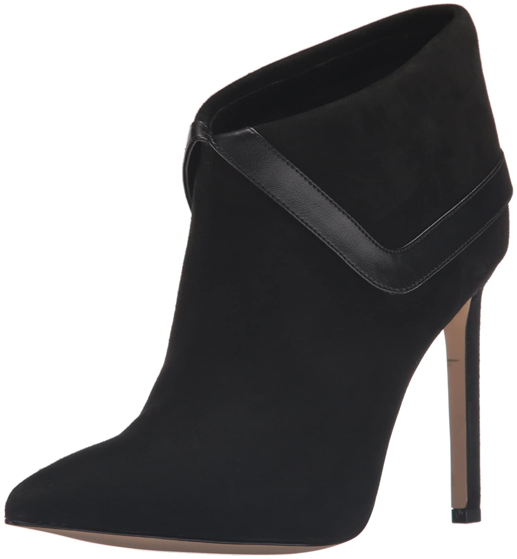Nine West Women's Tailya Suede Ankle US|Black Bootie B01ES579OW 7.5 B(M) US|Black Ankle 2cd432