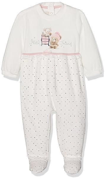 Chicco 9021478, Pelele para Bebés, Blanco (Naturale Stampato), (Talla del
