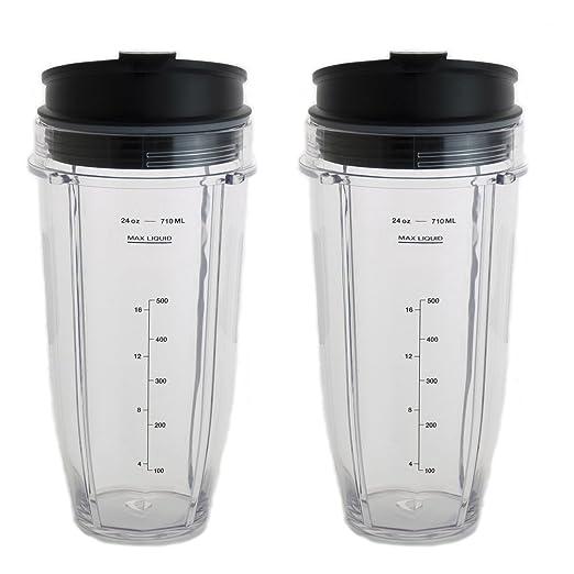 24 oz vasos para Nutri Ninja licuadora W/A prueba de fugas Sip y ...
