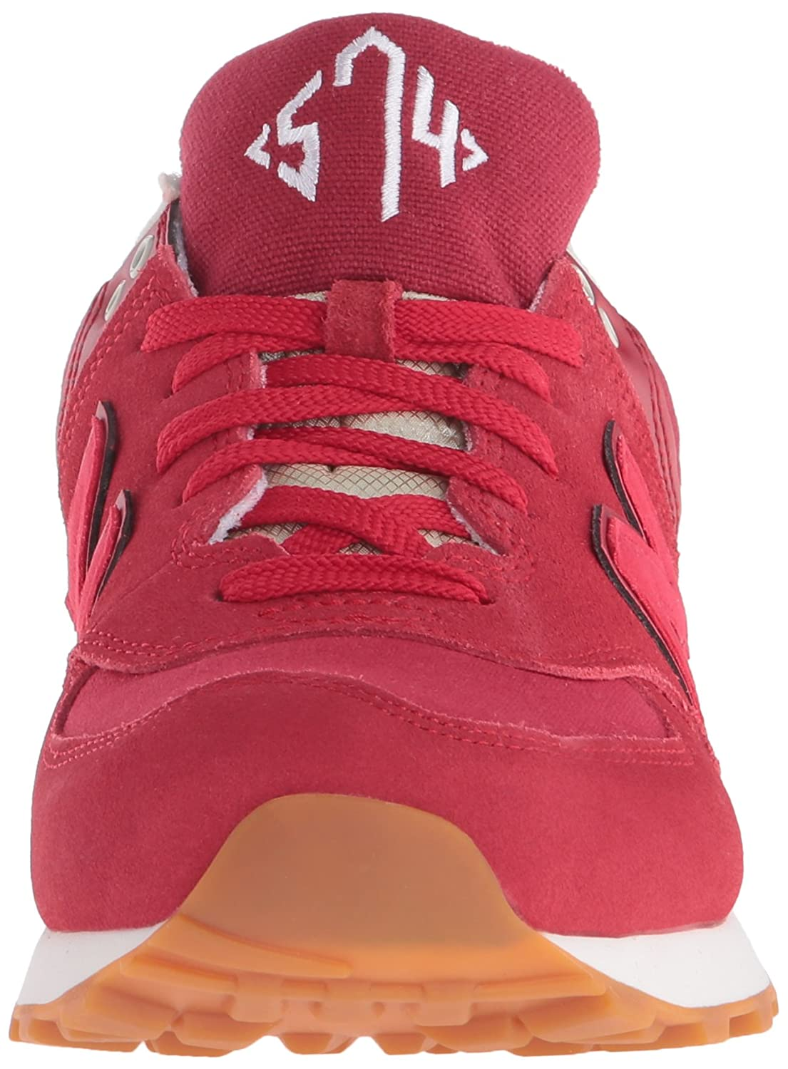 men's new balance 574 collegiate casual shoes