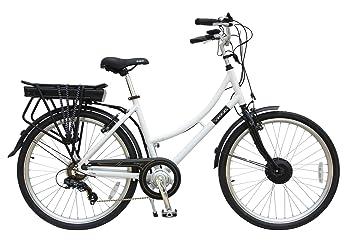 Viking – Bicicleta eléctrica 36 V 6 velocidad de aldeana 250 W 3 modo ayudar