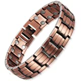 HZX Pure Copper Magnets Therapy Bracelet Pain