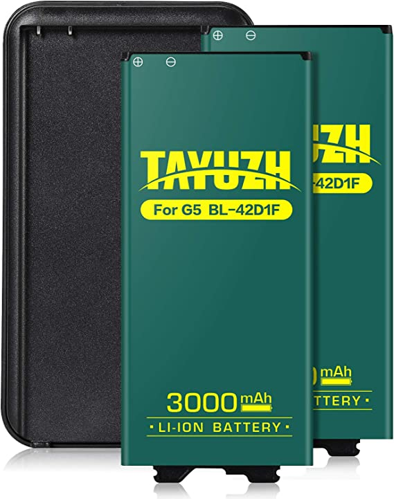 LS992 Sprint,H830 T-Mobile 24 Month Warranty LG G5 Battery 3200mAh Amyant Li-ion Battery Replacement for LG G5 BL-42D1F VS987 Verizon,H820 at/&T US992,H845 Dual H850 H858 Battery