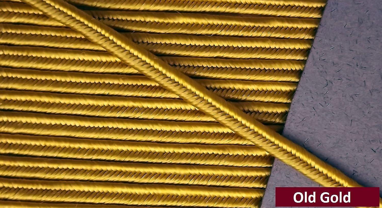 Soutache trenzado - dorado antiguo - 50 Metros: Amazon.es: Hogar