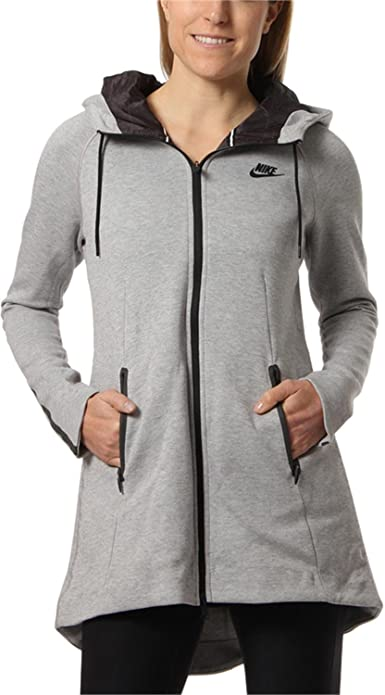 3a301c76fde9 Amazon.com  NIKE Aeroloft Tech Fleece Parka Womens  Sports   Outdoors