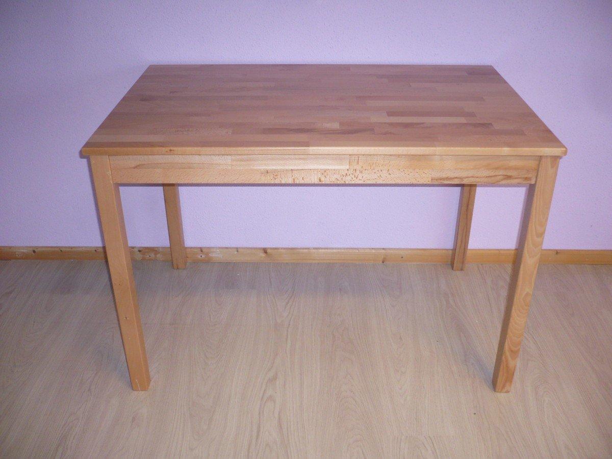 Esstisch Esszimmertisch Küchentisch Tisch 110x70 cm Kernbuche massiv ...