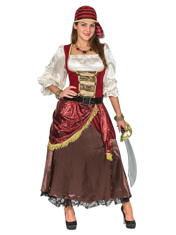 Generique Generique Generique - Hochwertiges Piratenkostüm Damen S 9c5437