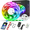 AiBast LED 16.4Ft Waterproof Flexible Tape Strip Lights