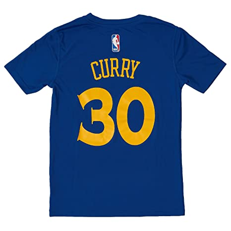 33fa4963e Outerstuff Stephen Curry  30 Golden State Warriors Performance NBA Player  Name and Number T-