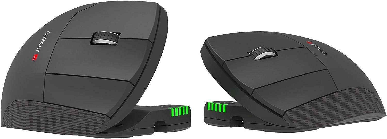 Unimouse (2.4Ghz Wireless Technology, 6 programmable Buttons, 10 DPI Settings, Pixart PMW3330 Sensor) (Left-Hand Wireless)
