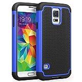 Galaxy S5 Case, SYONER [Shockproof] Hybrid Rubber